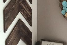 Chevron Pattern / This board features everything with a chevron pattern