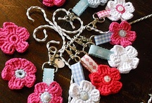 Crochet Brooches/Keychains