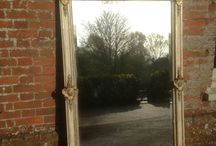 Cleall Antiques / Antique, stunning 19 th century mirrors !!