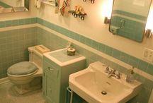 Sixties bathroom