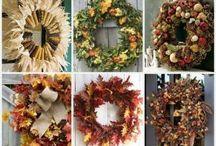 Fall wreaths / Wreath