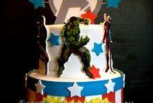 Marcellos 4th Birthday!  / Marcellos favorite foods and super heros!  / by Talaya Trujillo Valadez