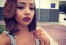Hair Did / Black girl hairstyles, forehead hairstyles