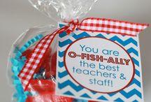 Teacher appreciate gifts