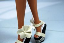 DOLL, TALL AND BEAUTIFUL SHOES OF BARBIES
