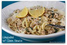 Seafood recipes / by Jaime Tamburrino