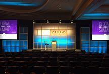 TEP Allegis @ Baltimore Waterfront Marriott 2014 / EVENTEQ provided set design, audio, video and lighting for General Session and 20 breakout rooms.