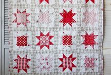 Quilts Red and White / by Pat Sloan