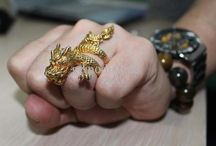 Rings // dragon / by I.C.