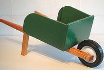 Livvy's wheelbarrow