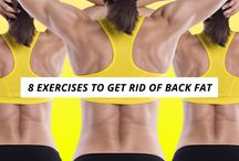 Back exercise / Lean back