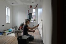 Painting / One of the easiest (and cheapiest!) things you can do to update your home or give it a fresh feel is PAINT!