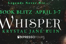 Book Blitz & Giveaway for Whisper by Krystal Jane Ruin