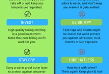 Best Hiking Infographics From Hiking For Her / Hiking tips and tricks can be learned the hard way, or the easy way! Use these infographics from Hiking For Her to solve your trail problems, and avoid others.