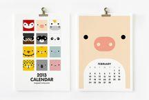 Calendar / by Daniela Geigner