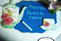 Chalk board / Chalk board for lovely home