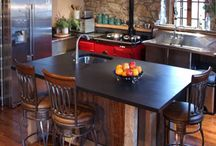 Restored Old Barns - Kitchens / A collection of images of awesome kitchens in restored old barns.