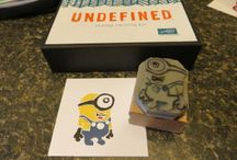 Stampin'Up Undefined / Hand carved stamps