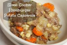 Slow cooker recipes / Easy recipes for the slow cooker