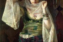 ORIENTAL WOMEN IN ART
