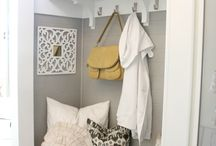 Entry/foyer/mud room  / by Jennifer Rabon