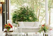 Front Porch Love / Our dream porch will be a reality and here's where the ideas happen. / by Jen (Balancing Beauty and Bedlam blog