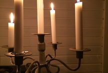 Candles - kynttilän luomia tunnelmia