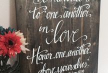Wedding gift ideas (handmade) / Lovely gifts I found on etsy you can give to a newly wed couple.