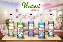 Verdessi / Improspateaza-ti casa, masina si toate locurile preferate cu Verdessi. Iti oferim o gama variata de odorizante in diferite forme pentru fiecare moment al zilei.
