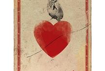 corazón de alelí