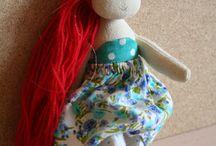 My dolls / Handmade soft dolls