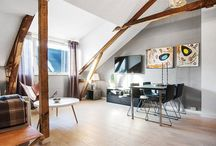 Small apartment, rustic and very well used