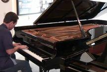 Musik, klaver og guitar