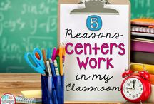 Centers / Teaching Teamwork & Independent Learning