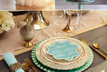 Colour Pallette - Gold & Teal