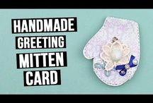 Handmade Greeting Cards / These videos will teach you how to make different types of handmade greeting cards in simple and easiest way. Just follow the instructions given in the tutorials! #diycards #greetingcards #handmade