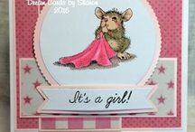 HOUSE MOUSE CARDS AND INSPIRATION / All things House Mouse. My creations and crafters inspirational projects.