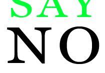 Say NO Plastic