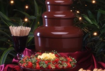Birthday cakes/Chocolate Fountain / sweet