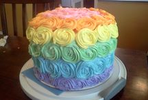 Colorful Cakes / by Frankie D. Flesher