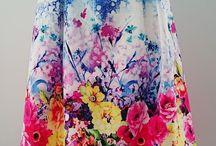 Skirts! Knee length & midi's.