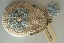 crocheted bags,clutches,purses / by Sara Rivka Dahan