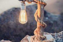 lampade e barattoli