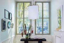Raambekleding / Gordijnen, shutters, luxaflex