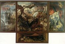 Thématique 2 : ARTS , ETAT ET POUVOIRS / Cette thématique aborde le rapport que les œuvres d'art entretiennent avec le pouvoir politique et la société.