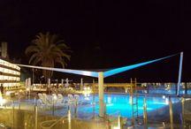 instalación de vela en hotel OBC - Ocean Beach Club / instalación de vela en hotel OBC - Ocean Beach Club