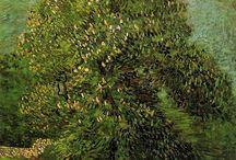 Vincent Van Gogh | Chestnut Tree in Bloom, 1887