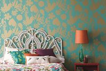 Heavenly Harlequin / Harlequin have embraced their rich heritage in designer wallpaper and are well known for producing high quality wallpapers of stunning design and colour.