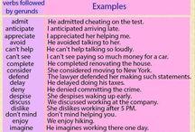 verbi inglesi / English language