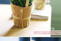 pot plant wrapping